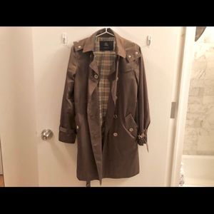 Burberry London Trench Coat with Removable Hood